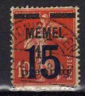 Memel 1921 Mi 34, Gestempelt [010216XIV] - Memelgebiet