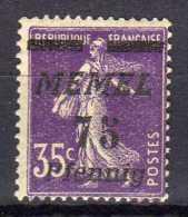 Memel 1922 Mi 62 ** [010216XIV] - Memelgebiet
