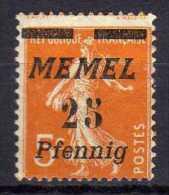 Memel 1922 Mi 58 * [010216XIV] - Memelgebiet
