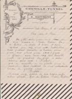 Facture / Courrier 1932 HOFFMANN CHENILLE TUNNEL - 1900 – 1949