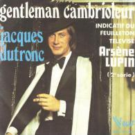 """B-O-F  Jacques Dutronc  """"  Gentleman Cambrioleur  """" - Soundtracks, Film Music"""