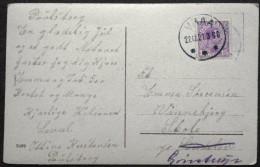 Denmark  1921   Christmas Cards  Minr.69  VRAA  22-12-1921   ( Lot  6015 ) - 1913-47 (Christian X)