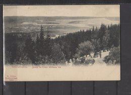 Norvege - Christiania - Udsigt Fra Keiser Wilhelms Vei - Norvège