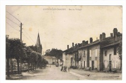 CPA 57 COURCELLES CHAUSSY Bas Du Village - Frankreich
