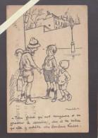Nantes - Poulbot - Publicité Pour Les Bonbons Lucas, Pour éviter De Se Gratter Le Derriere - Vente En Gros Pharmacie De - Nantes