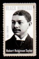 USA, 2015, Scott #4958, Robert Robinson Taylor, Black Heritage #38, MNH, VF - Unused Stamps