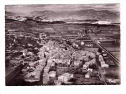 04 Peyruis Vue Panoramique Aérienne Sur La Vallée De La Durance Et La Ville Carte Non Voyagée - Autres Communes