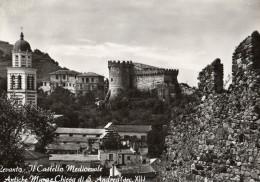 La Spezia - Levanto : Il Castello Medioevale - Antiche Mura E Chiesa Di S. Andrea - La Spezia