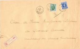 16617. Carta Certificada EECLOO (Belgien) 1930. To Assenede - Bélgica