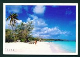 CUBA  -  Playa De Guardalavaca  Used Postcard As Scans - Cuba