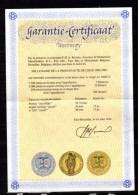 Belgique 1980, Médailles Bronze Du Millénaire De Liège Avec Certificat - Ohne Zuordnung