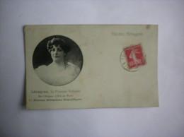 AEROGYNE LA FEMME VOLANTE DE L'ALCAZAR D'ETE DE PARIS 1911 - Artistes