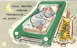 PUBLICITE  ESSO  A SYSTEME   - GARAGE GEORGES FORTAGE  PAUILLAC  -  (LE SOMMEIL) - Publicités