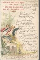 CPA - PUBLICITE - PALAIS DU COSTULE - 1899 - AVEC UN POEME DE JEAN BARANEY - Publicidad