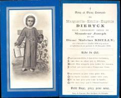 Devotie Doodsprentje Marguerite Emilie Eugenie Dierycx  - Ostende  Oostende 1894 - 1900 - Décès