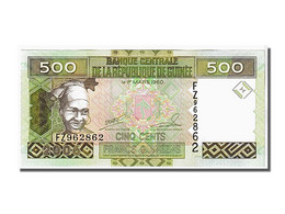 Guinée, 500 Francs Type 2006-07 - Guinée