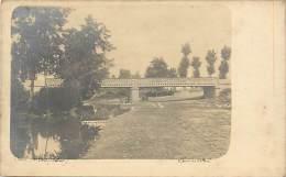 - Departs Div- Ref -DD843 -  Allier - Cosne Sur L Oeil - Carte Photo Pont De L Oeil - - Frankrijk