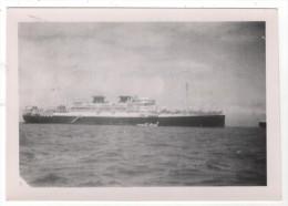 Photo originale Marine Le Mar�chal Joffre � DJIBOUTI 1949