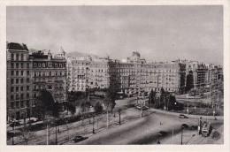 POSTAL DE BARCELONA DE LA PLAZA CALVO SOTELO - VISTA GENERAL (PABLO DUMMATZEN) - Barcelona
