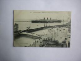 """ENTREE DU PAQUEBOT """"PARIS"""" 1923 - Port"""