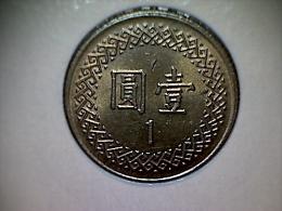 Taiwan 1 Yuan 1996 - Taiwan