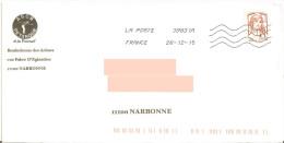 Enveloppe Illustrée ASCN Pétanque Et Jeu Provençal Narbonne Aude + Toshiba 39831A + Marianne Ciappa