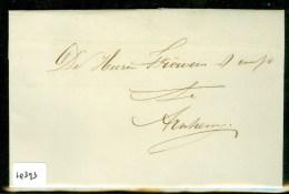 HANDGESCHREVEN BRIEF Uit 1865 Gelopen Van DRUTEN Naar FROWEIN Te ARNHEM  (10.393) - Periode 1852-1890 (Willem III)
