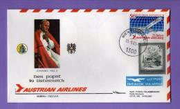 Vaticano. - 1993 - Viaggi Del Papa,  DISPACCIO AEREO -  AUSTRIA - ROMA..    Vedi Descrizione - FDC