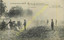 Au Front . Un Duel D'artillerie . GUERRE 1914-15 . - Zonder Classificatie