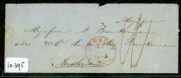 BRIEFOMSLAG Uit 1861 Gelopen Van UTRECHT  Naar AMSTERDAM  (10.395) - Period 1852-1890 (Willem III)