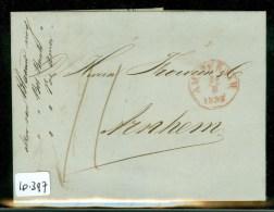 POSTHISTORIE * HANDGESCHREVEN BRIEF Uit 1852 Gelopen Van AMSTERDAM Naar FROWEIN Te ARNHEM (10.397) - Pays-Bas