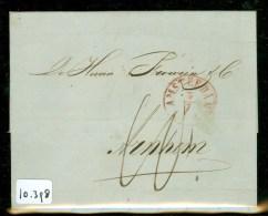 POSTHISTORIE * HANDGESCHREVEN BRIEF Uit 1852 Gelopen Van AMSTERDAM Naar FROWEIN Te ARNHEM (10.398) - Pays-Bas