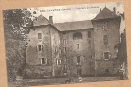 922. CHAMOUX (Savoie). -- Château De Sonnaz - Voyagée 1917 - Chamoux Sur Gelon