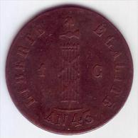 - HAÏTI - 1 Centime 1846  - - Haïti