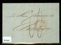 POSTHISTORIE * HANDGESCHREVEN BRIEF Uit 1852 Gelopen Van AMSTERDAM Naar FROWEIN Te ARNHEM (10.401) - Nederland