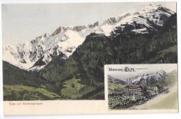 ELM: 2-Bild-AK Coloriert Mit Kurhaus ~1910 - GL Glaris