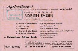 Produit Vétérinaire  Adrien Sassin - Cachet  Thouroude Picauville  (manche ) - Format 13,5 X 21 Cm - Produits Pharmaceutiques