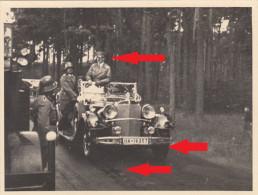 29, Privat Foto A.H. Im Großen Mercedes  ! - Krieg, Militär