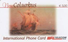 *ITALIA - NEW COLUMBUS (CLL)* - Scheda Usata - Schede GSM, Prepagate & Ricariche