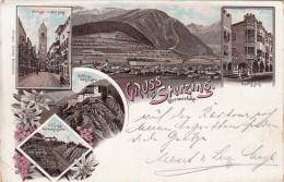 GRUSS Aus STERZING Brennerbahn-VG 26/Aug./1897- 2 SCAN- - Bolzano (Bozen)