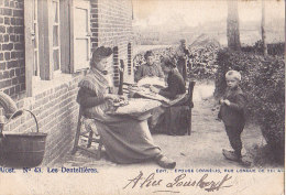ALOST / LES DENTELLIERES  / TOP CARTE / RARE + - Aalst