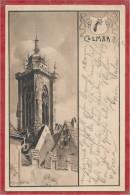 68 - COLMAR - Coll�giale St Martin - Carte sign�e JJ WALTZ - HANSI - Editeur Max WETTIG