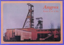 Carte Postale 62. Angres La Mine  Fosse 6 Et 6 Bis  Trés Beau Plan - Other Municipalities