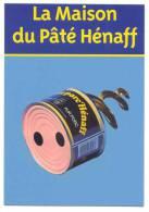 AR 19 La Maison Du Paté Hénaff ...cart Com . Cochon Bretagne Jambon - Publicité