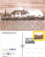 SLOVENIA  2015,TRAIN,UPON LOCOMOTIVE,,80  ANNI DALL ULTIMO TRENO SULLA PARENZANA,IZOLA-ISOLA 1935 - Slovenia