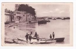 CIRCA 1930- PONT SAINT ESPRIT - Vue Du Port Et Commencement Du Pont ( XIII ) - France