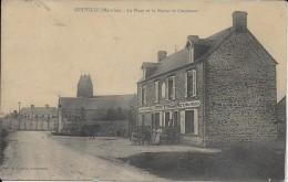 --gouville La Place Et La Route De Coutances - France