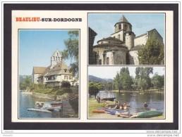 19  BEAULIEU Sur DORDOGNE  Cpm MULTIVUES  1991 - Sonstige Gemeinden