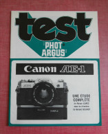 TEST PHOT ARGUS : Photo Canon Reflex AE1 - Non Classificati