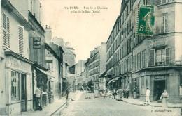 Cpa PARIS XIII Rue De La Glacière Prise De La Rue Daviel - Progrès De La Côte D' Or CAUVERT - Arrondissement: 05